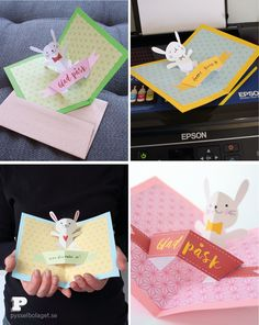 Free printable easter cards by Pysselbolaget