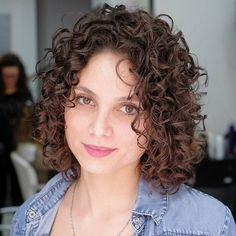 Curly and Confident Curly Bob Hairstyle