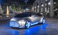 Mercedes-Benz has unveiled the Vision Tokyo fuel cell concept at the 2015 Tokyo Motor Show.