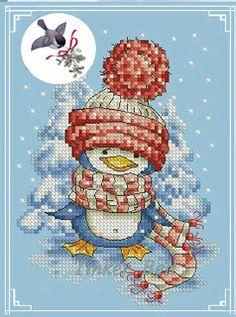 Feliz Natal: Pinguim
