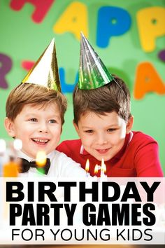 If you're throwing a birthday party for kids in preschool, this list of 8 fun and awesome birthday games for kids is just what you need to keep your guests entertained and happy!