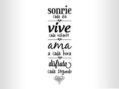 I love this so much Para la sala Foto Transfer, Mr Wonderful, Inspirational Phrases, More Than Words, Spanish Quotes, Sentences, Wise Words, Positive Quotes, Me Quotes
