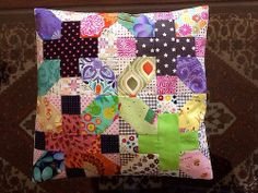 Japanese + and X quilt along