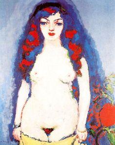 Kees van Dongen, Nude of a Young Girl