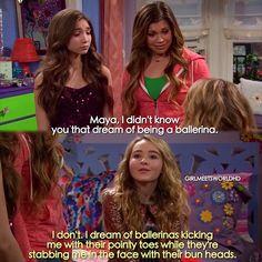 "#GirlMeetsWorld 1x20 ""Girl Meets First Date"" - Maya, Riley and Topanga"
