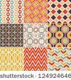 retro seamless pattern by paul_june, via ShutterStock