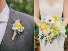 Laura + Aaron's Wedding; florals by Rose Red & Lavender, photos by Our Labor of Love