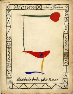 I am drawn to this piece.   By Portuguese poet/artist Cruzeiro Seixas