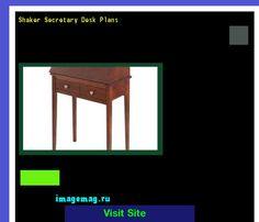 Shaker Secretary Desk Plans 093732 - The Best Image Search