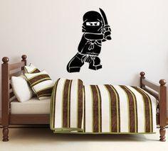 Ninjago Lego Decal  Vinyl muur sticker Sticker door ItsWallTalkVinyl