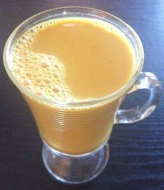 Turmeric Chai Tea with Pumpkin Pie Spice