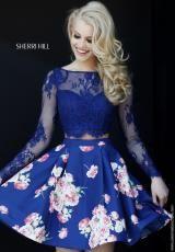 Sherri Hill Short Dress 32323