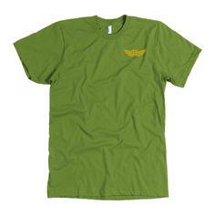 mens t shirts - American Apparel Mens / Olive / L