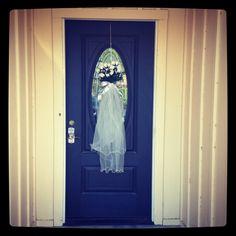Entrance to bridal shower