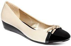 Karen Scott Mahri Flats - All Women's Shoes - Shoes - Macy's Women's Shoes, Karen Scott, Work Fashion, Shoe Game, Low Heels, Casual Chic, Ballet Flats, Shopping, Style