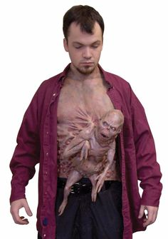 Other Costume Accessories 82161: Little Brother Chest Piece Alien Fetus Halloween Costume Prop Accessory -> BUY IT NOW ONLY: $49.98 on eBay!