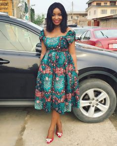 60 Most Trending Ankara Short Gown Styles 2018 For Every Woman on African Dresses For Women, African Print Dresses, African Attire, African Fashion Dresses, African Wear, African Inspired Fashion, African Print Fashion, Africa Fashion, Ankara Short Gown Styles