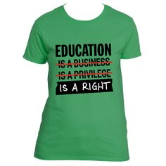 Education is a Right | The Urban Ed Shop