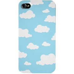 The Dairy Cloudy Day Iphone 4/4s Case found on Polyvore