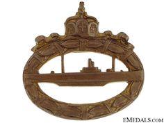 WWI German Submarine Badge German Submarines, Wwi, Badge, Germany, Decorations, History, German Uniforms, Weimar, Historia