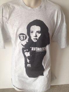 The Avengers British TV Show T Shirt Sz XL #Jerzees #GraphicTee