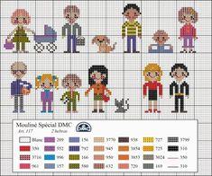 Este mes os regalamos este diagrama de punto de cruz que hemos creado especialmente para las lectoras de nuestro blog. El tema que hemos elegido este mes es el arbol genealógico y la familia.Y como d