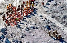 Mortos por erupção do vulcão Ontake chegam a 48
