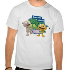 Huggleball is Roarsome! Shirt from Disney's Henry Hugglemonster Henry Hugglemonster, Customized Gifts, Tee Shirts, Mens Tops, Friends, Kids, Style, Personalized Gifts, Amigos