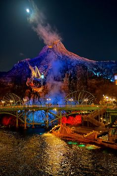 Mysterious Island at Night - TDS