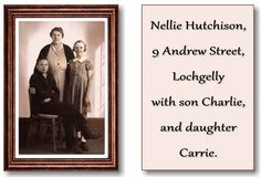 HUTCHISON FAMILY GROUP, 9 ANDREW STREET, LOCHGELLY, SCOTLAND.