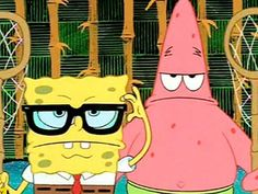 Spongebob Squarepants: poker face