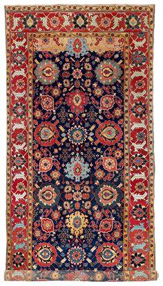 Northwest Persian kelleh, Azerbaijan, 18th century