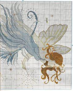 The Enchanted Fairy - 3/3 Solo Patrones Punto Cruz (pág. 373) | Aprender manualidades es facilisimo.com