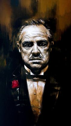 Don Vito Corleone [Custom Edit] - Wallpaper World The Godfather Poster, The Godfather Wallpaper, Godfather Movie, Godfather Tattoo, Scarface Poster, Scarface Quotes, Mafia Wallpaper, Arte Dope, Don Corleone