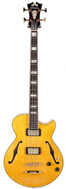 D'Angelico Guitars EX-Bass - I think if someone offered me this as a direct swap for my Gibson EB750, I's still say, no, but it would be tempting....K