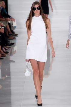 The complete Ralph Lauren Spring 2014 Ready-to-Wear fashion show now on Vogue Runway.