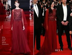 Eva Green In Elie Saab Couture - 'The Salvation' Cannes Film Festival Premiere - Red Carpet Fashion Awards
