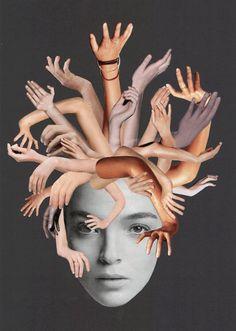 Mein Beitrag zu The Kollage Kits Thema der Woche: Animierte Collage Wenn Träume wahr werden! Nachdem ich meine Medusa vor einiger Zeit fertiggestellt habe, habe ich davon geträumt, sie in Bewegung...
