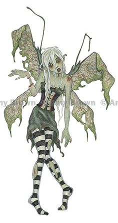 Amy Brown: Fairy Zombie