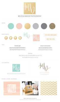 {Salted Ink Digital Design Co.} SEP 10, 2013 – Brand Launch: Melissa Biador Photography → saltedink.com/...