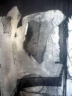 gesto II en blanco y negro