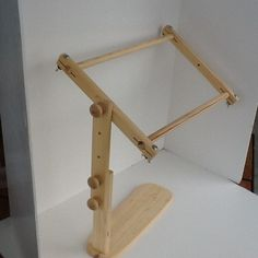 """New #Embroidery Lap Stand Wooden Needlepoint Cross Stitch Adjustable 16"""" Frame  $29.99"""