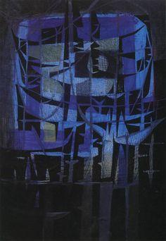 Vicente Rojo, 'Los presagios: el fuego', 1959. México