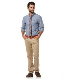 Penguin Oxfords Straight Up - Estate Blue - The Blues Jean Bar, the Best Place to Buy Jeans! Buy Jeans, Long Shorts, Mens Sale, Oxfords, Penguin, Blues, Khaki Pants, Bar, Stuff To Buy