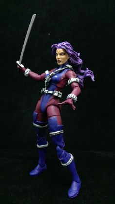 Revanche custom action figure from the Marvel Legends series using Wasp as the base, created by Wings. Best Action Figures, Lego Display, Marvel Legends Series, Psylocke, Female Characters, Kids Toys, Amazon, Men, Collection