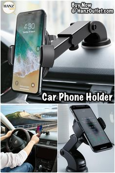 Universal Mount 360 Airbag Mobile Phone Holder Bracket For