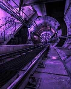 ▷ 1001 + Ideas for Celebrating the Return of Grunge Aesthetic nowhere written on a black shield, hanging over a pair of escalators, in an empty mall-like space, illuminated by pink neon light, grunge