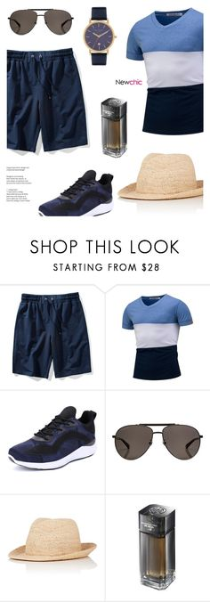 """""""Newchic 07: Wind from the east"""" by bugatti-veyron ❤ liked on Polyvore featuring Gucci, Kaminski XY, Shanghai Tang, Ted Baker, men's fashion and menswear"""
