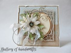 Gallery of handicrafts: Niebieski, beż i krem