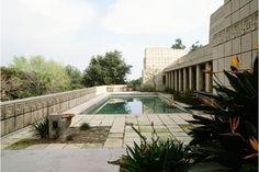 Ennis House Pool
